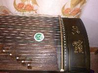 出售9.9成新扬州定做便携式古筝演奏琴