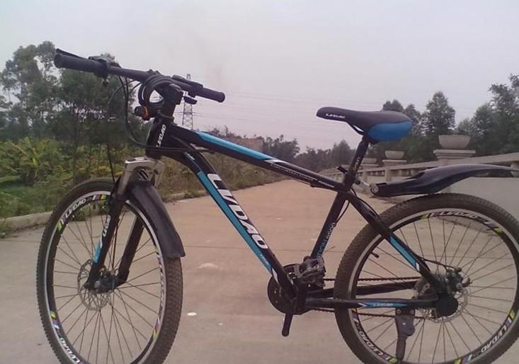转一辆闲置山地自行车