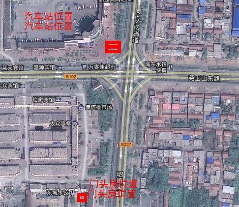 汽车站门头房出租-青州在线