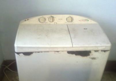 雙缸洗衣機一臺,六七成新150元