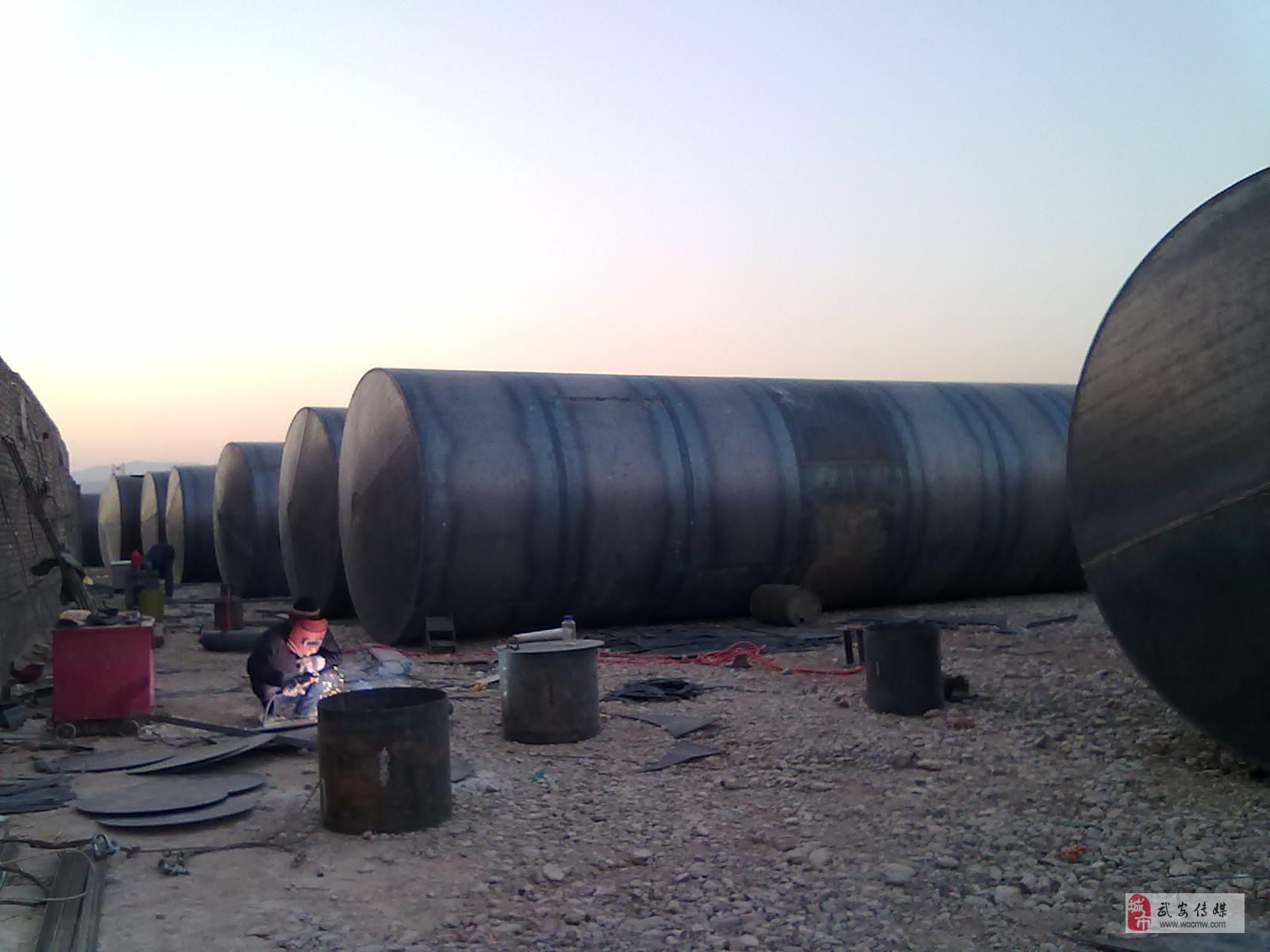 油罐厂 轻钢结构 钢球网架制作安装