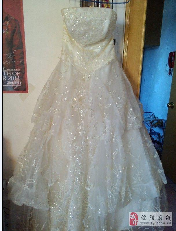个人婚纱礼服出卖