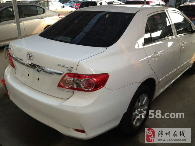 丰田 卡罗拉 2011款 1.6L GL 纪念版