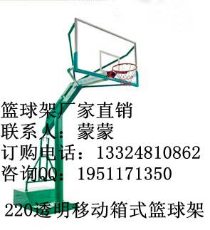 2013篮球架-(雄健耐用)体育器材-南宁厂家直销