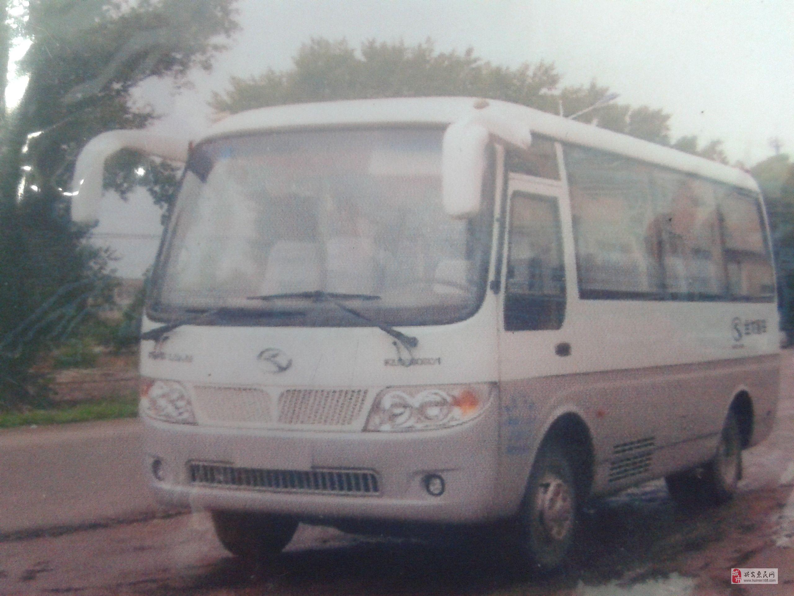 乌兰浩特低价出售19座苏州金龙空调客车
