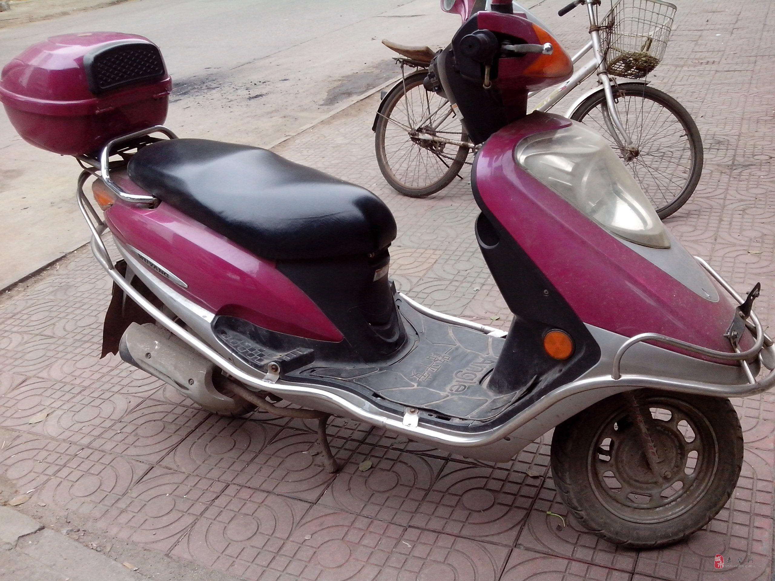 出售二手广州五羊踏板摩托车