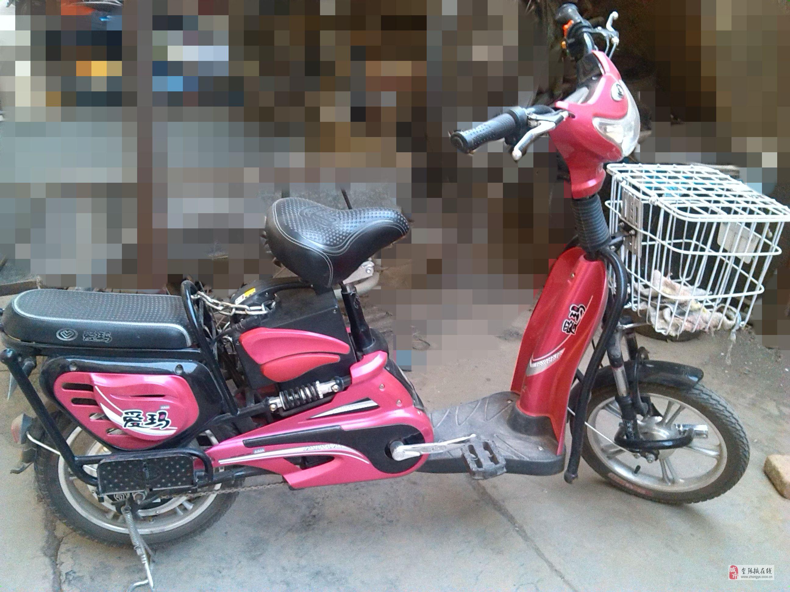 九五成新爱玛电动自行车