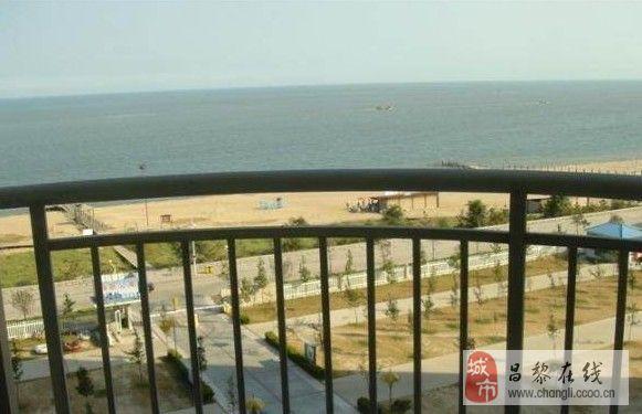 秦皇島南戴河黃金海岸高層海景公寓,海邊花園別墅