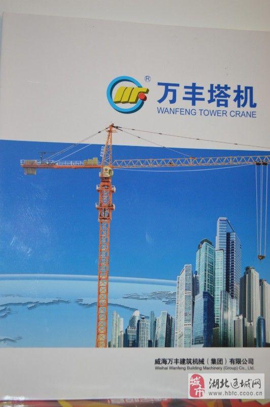 山东省威海市万丰建筑机械有限公司 大量出售各种型号的塔机  型号有