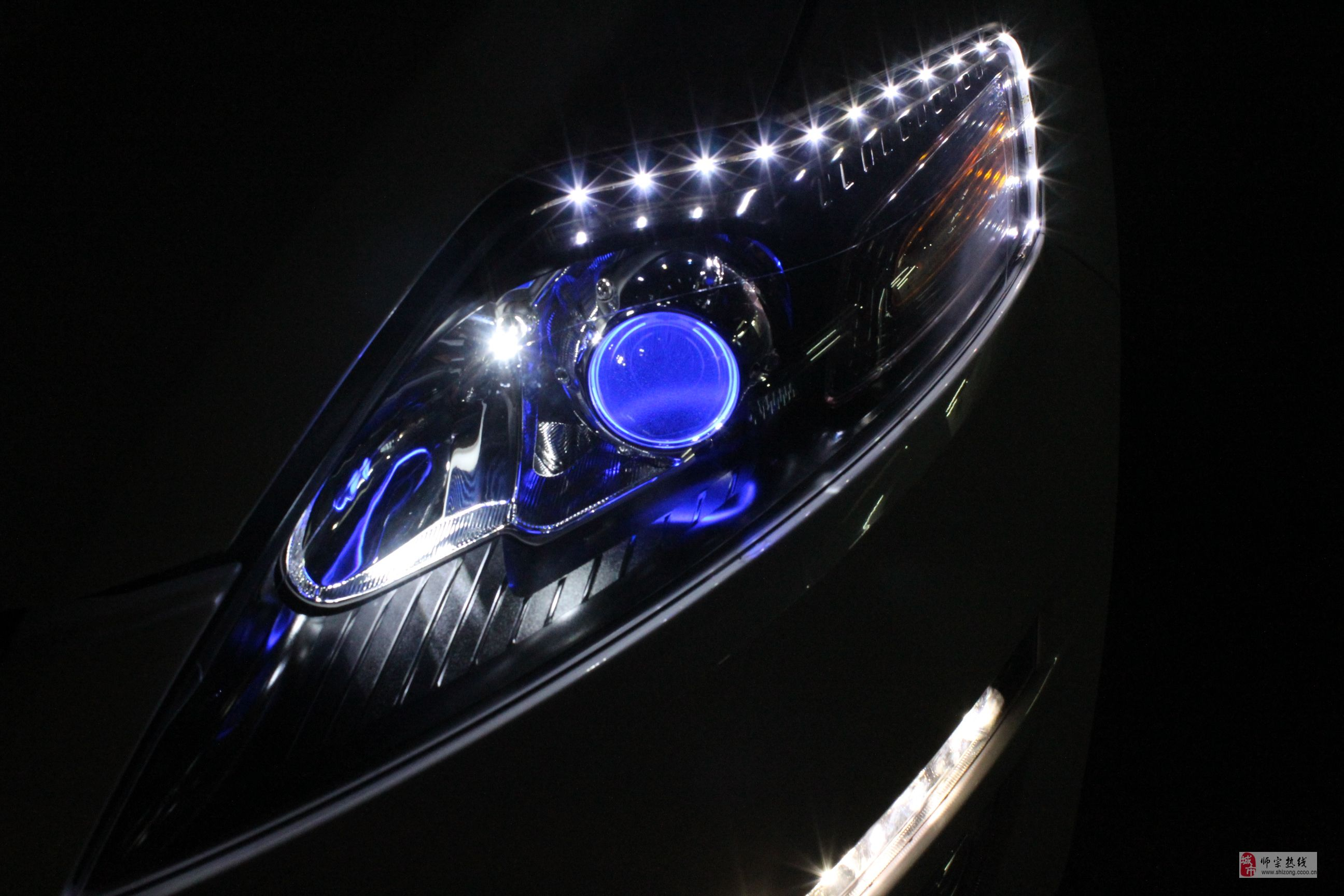 汽车灯光使用图解   灯光信号组合开关 灯光组合开关图解 高清图片