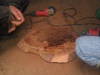 龙州正宗蚬木砧板