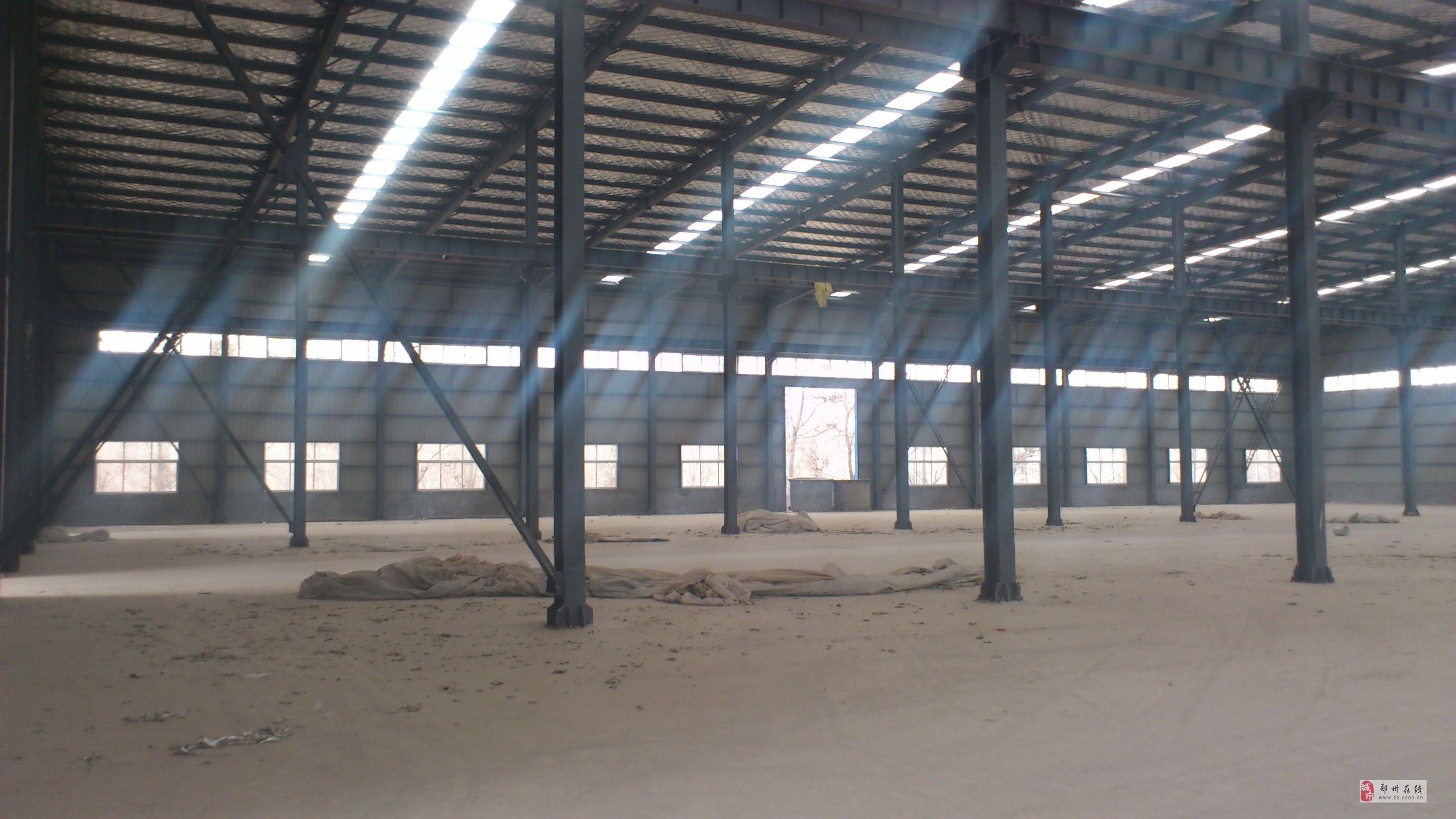 须水工贸园珠江路6800平方新建钢结构房出租