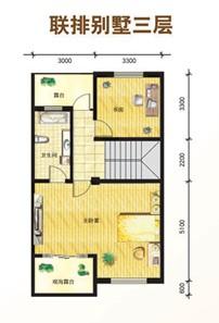 联排别墅 面积:产权面积224.54平方米,总建筑面积279