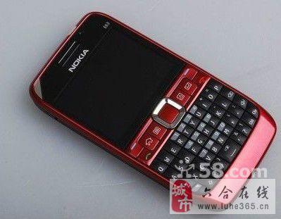 红色 诺基亚 E63