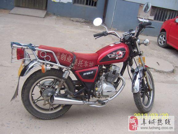 珠峰-光阳125型摩托车(原装光阳机器),八成新