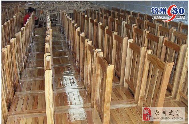 全新桉木餐椅厂家批发
