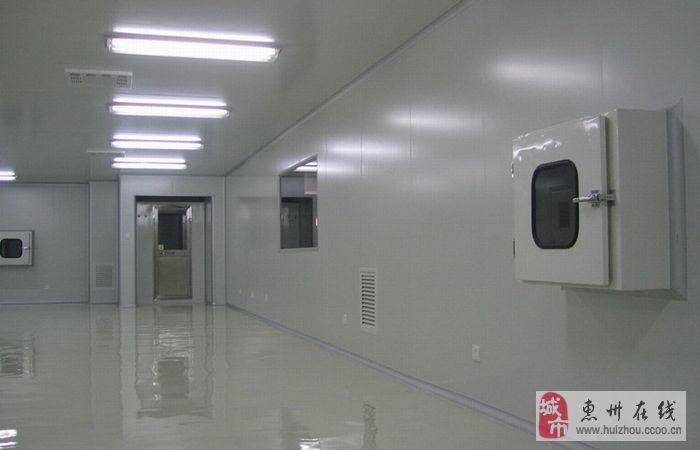 惠州百级/千级/万级/十万级/三十万级净化车间装修