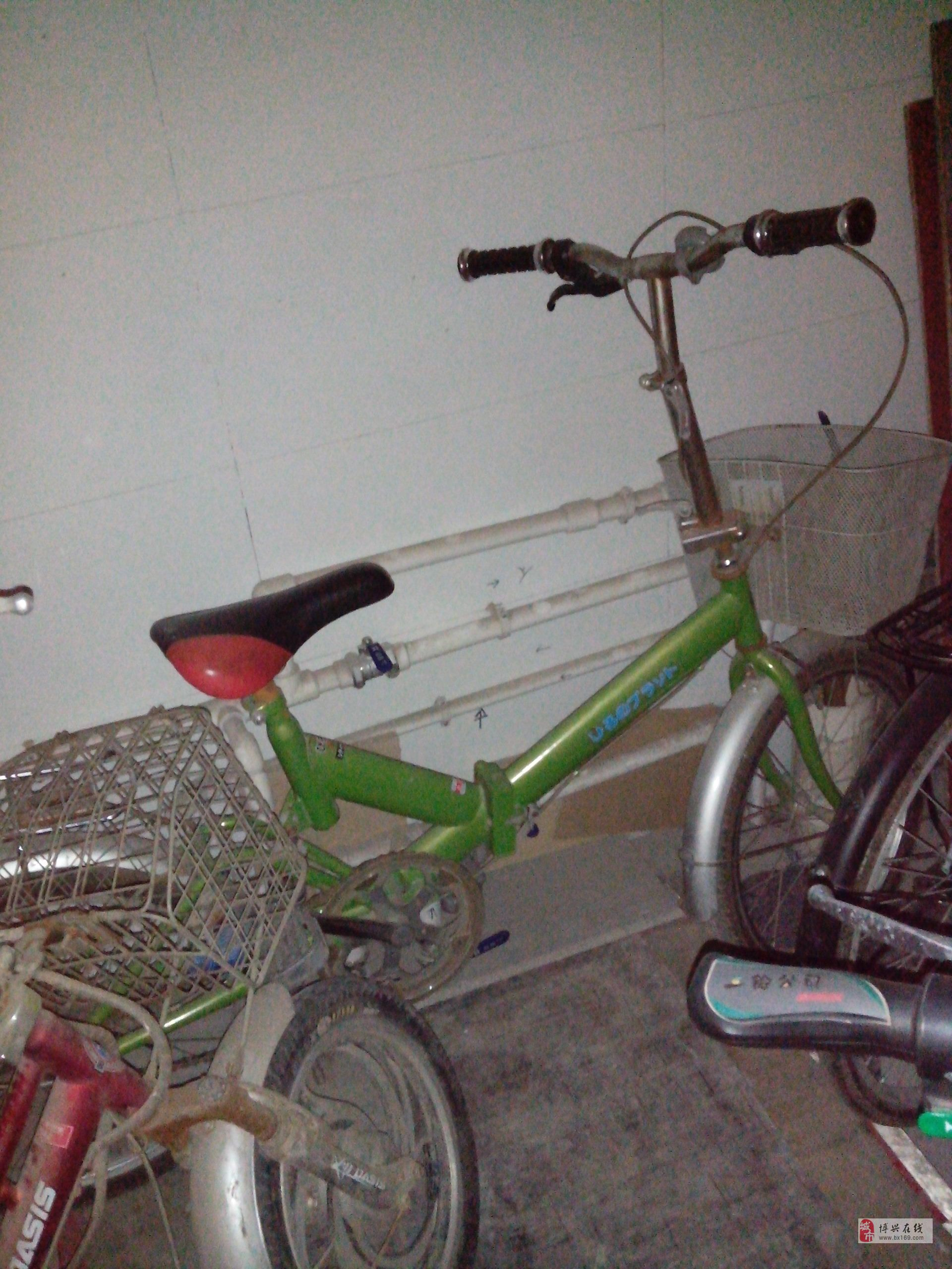 八九成新折叠迷你自行车