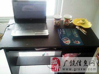 急转9成新 二手电脑桌一张
