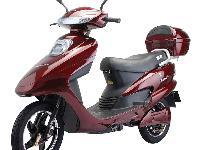 踏板摩托车,烧油的