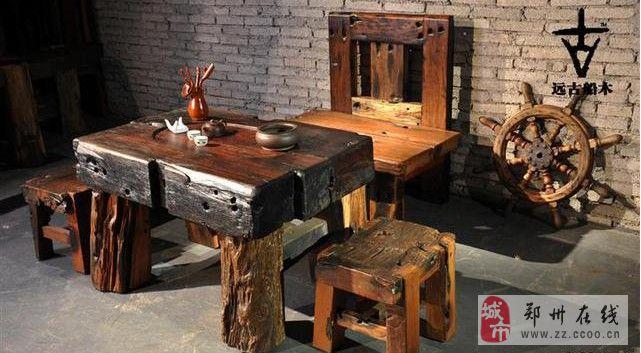 古璞自然、稀有典藏-古船木艺术家具馆