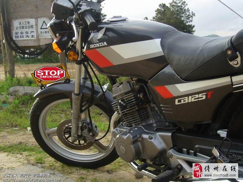 收本田鹰王cb125t摩托车一辆,老进口的那款.