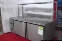 带冷冻操作台温控展示柜
