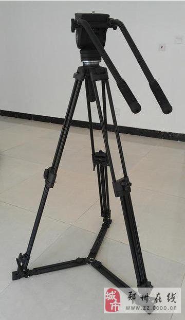 FT-9902专业摄像机三脚架+包9成新