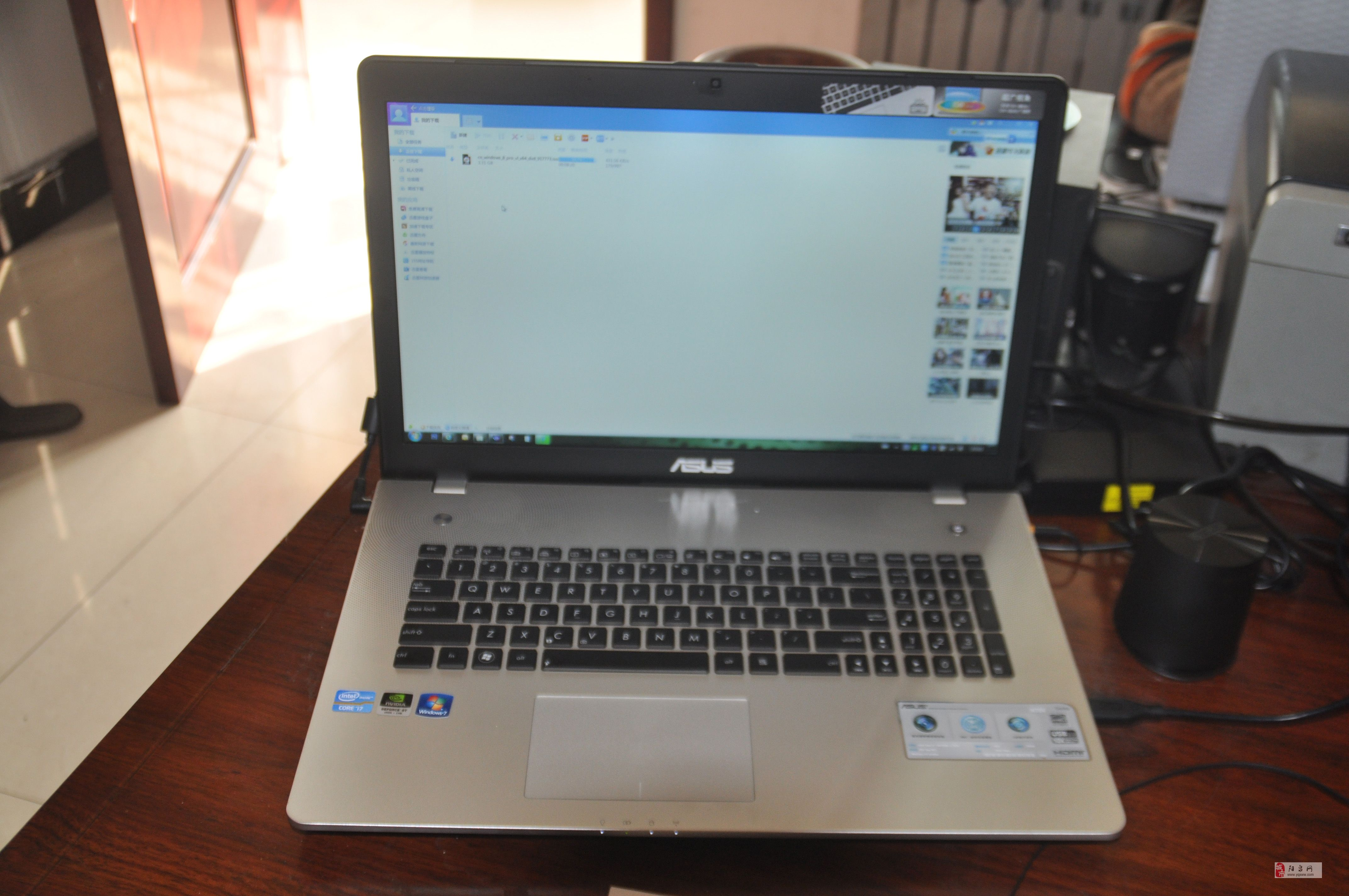 处理器i73610 硬盘750g+ssd 64g 显示器17.4 内存8g。2012年12月份北京购买,带发票,官方保修2年,系统升级正版win8pro、正版office2013pro等正版精品软件,并做系统备份(win7和win8各一套),一旦系统损坏,10分钟恢复正常;官方售后升级64g intel ssd硬盘,关机2秒,开机约7秒,稳定可靠! 联系我时请说明是在阳泉网看到的 同城交易请当面进行,以免造成损失。外地交易信息或者超低价商品请慎重,谨防上当受骗。