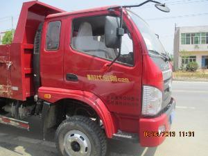 出售福田时代金刚4102自卸车一辆高清图片