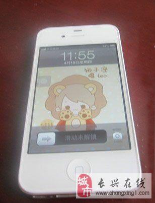 (转让)白色 苹果 iPhone4S 16GB