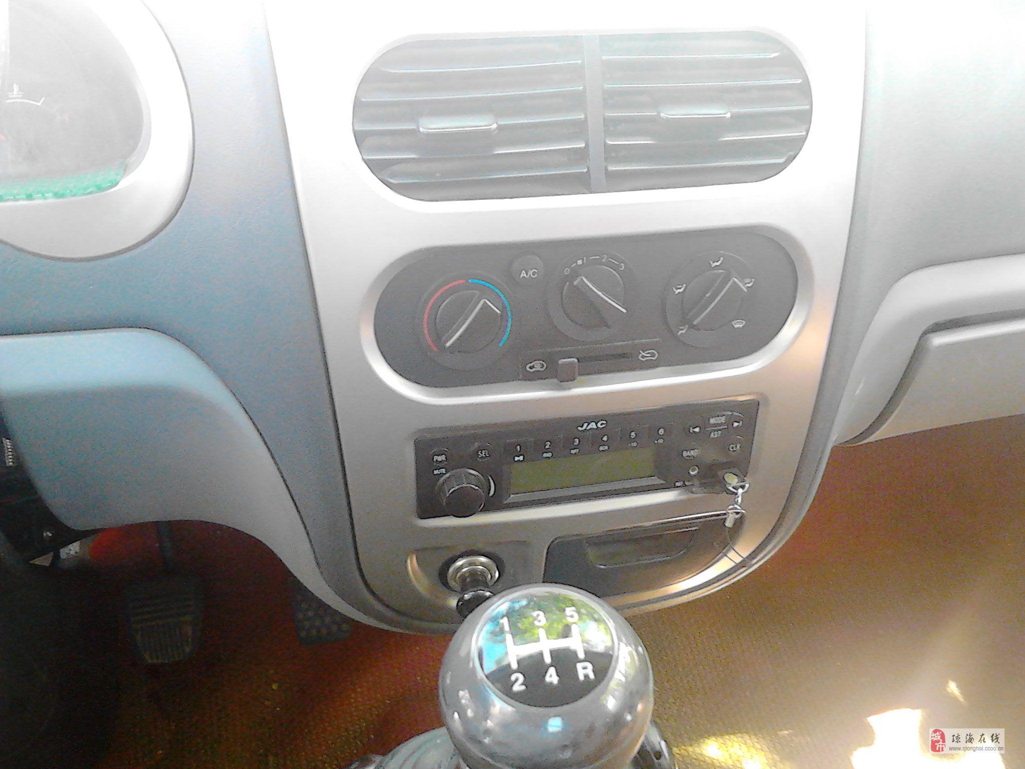 江淮好微栅栏式小货车,手续齐全,单排座2011年上牌,车身全长5高清图片