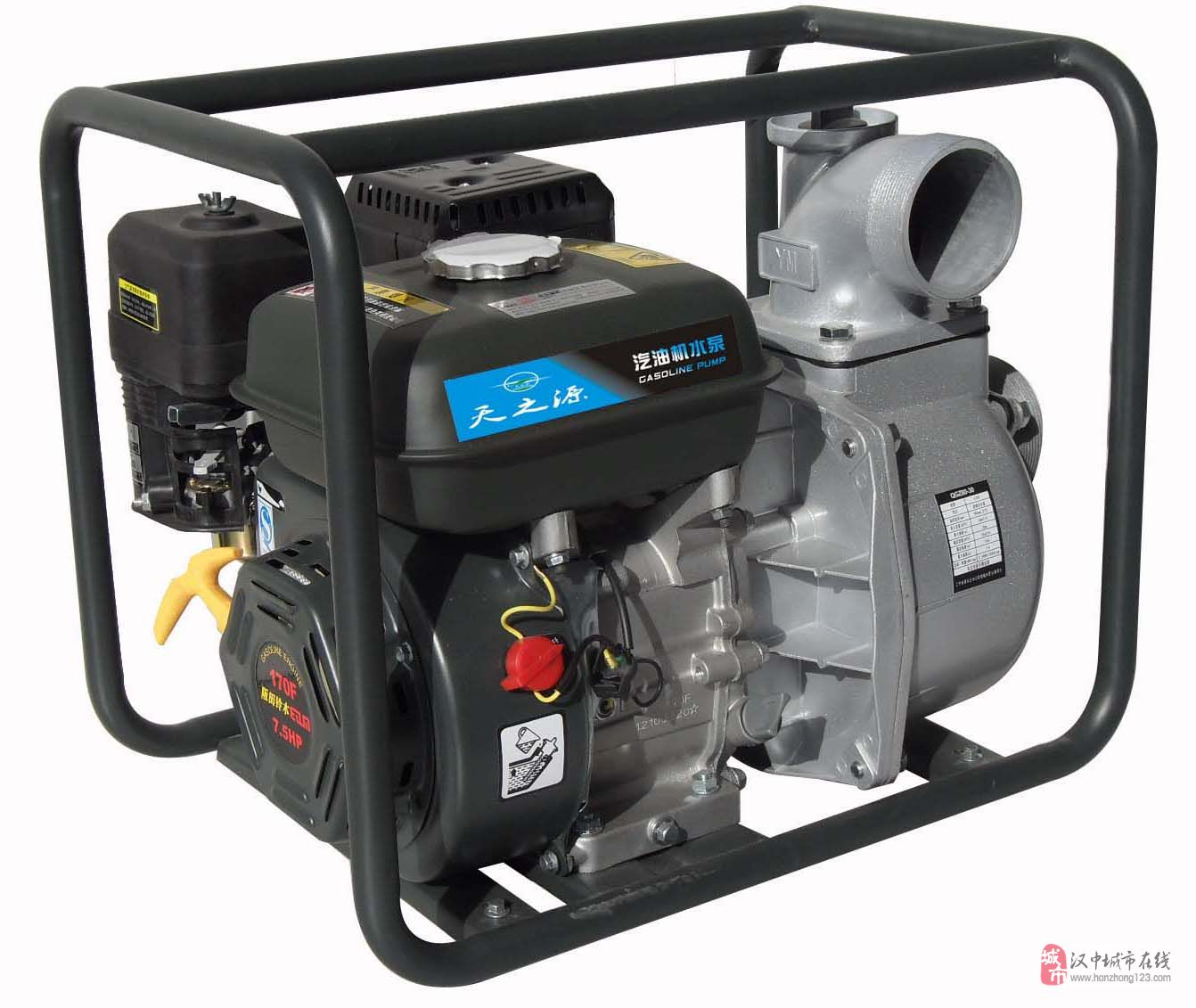 汉中汽油机水泵批发,汉中汽油机水泵销售,维修。