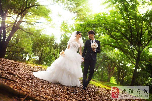 沈阳外景婚纱照哪里好|沈阳3D视觉婚纱摄影工作室