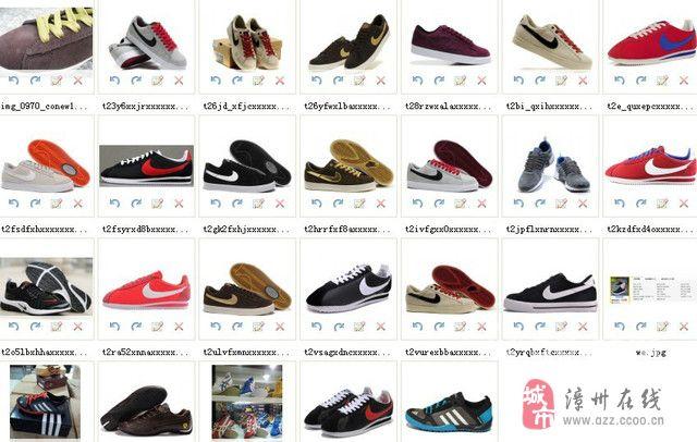 一批外贸定单鞋低价处理
