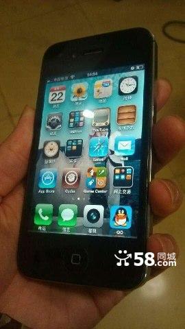 电信版本iphone4苹果4