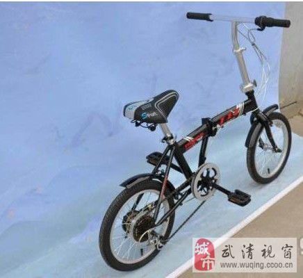 16寸折疊小輪自行車折疊變速340元