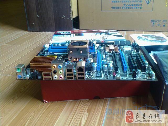 升技 X38 gt3 数字供电 E5450绝配