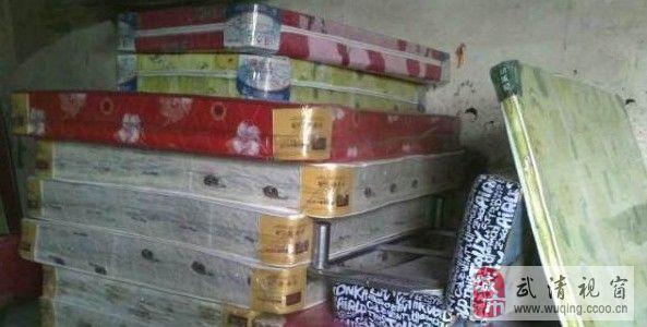 低价处理双人床加垫,两门柜,三门柜管送