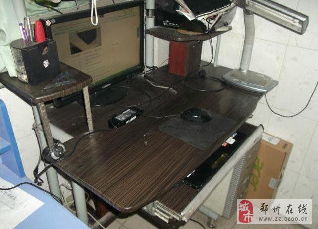 旧电脑桌100元处理,要的拉走