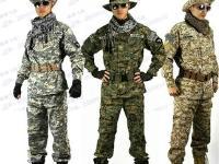 出售全新美軍防刮格子布迷彩套裝