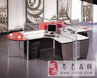 急转让办公桌屏风,屏风组合办公桌+抽活动柜2600