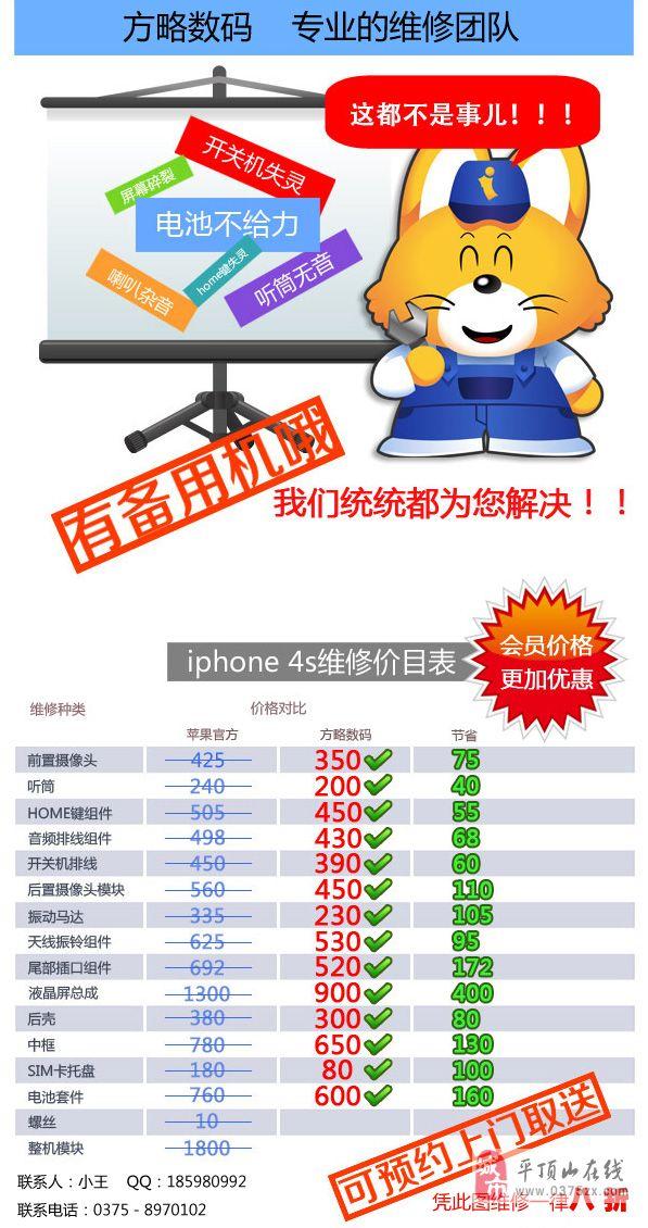 蘋果手機維修大放價