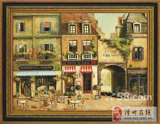 定制格式油画、国画及手绘墙绘