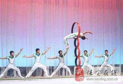 本团的杂技,魔术,歌舞表演