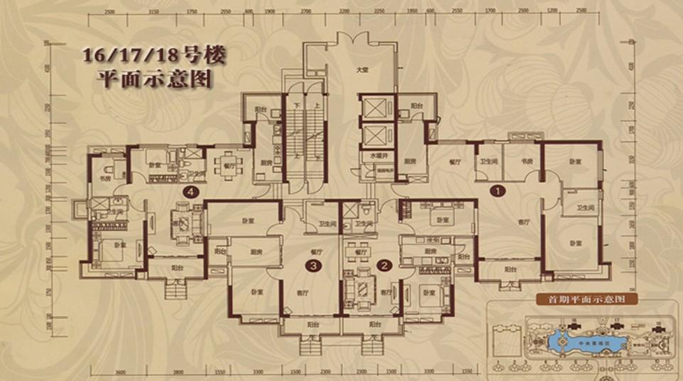 秦皇岛恒大城户型图