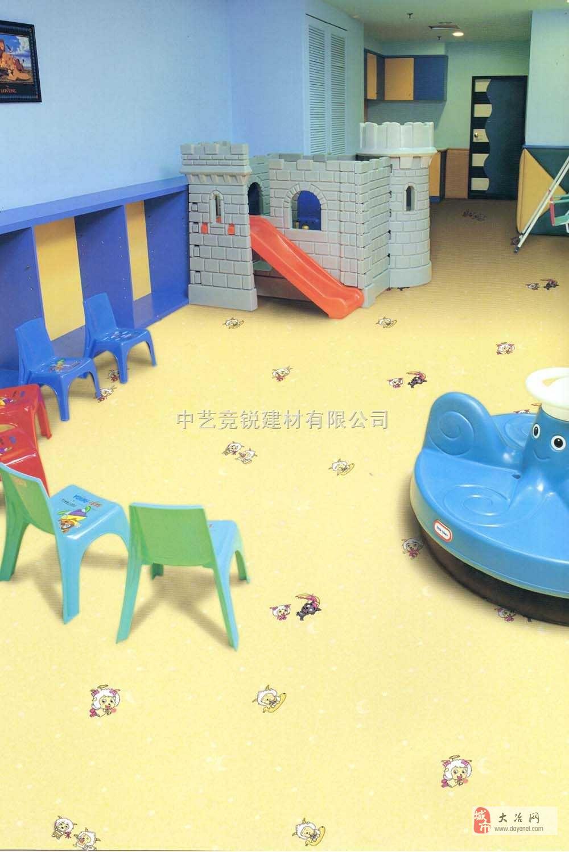 专业幼儿园塑胶地板黄石地区最大的塑胶地板承建