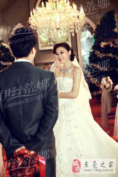台湾婚紗影樓首選莞城伊絲蒂娜婚紗攝影