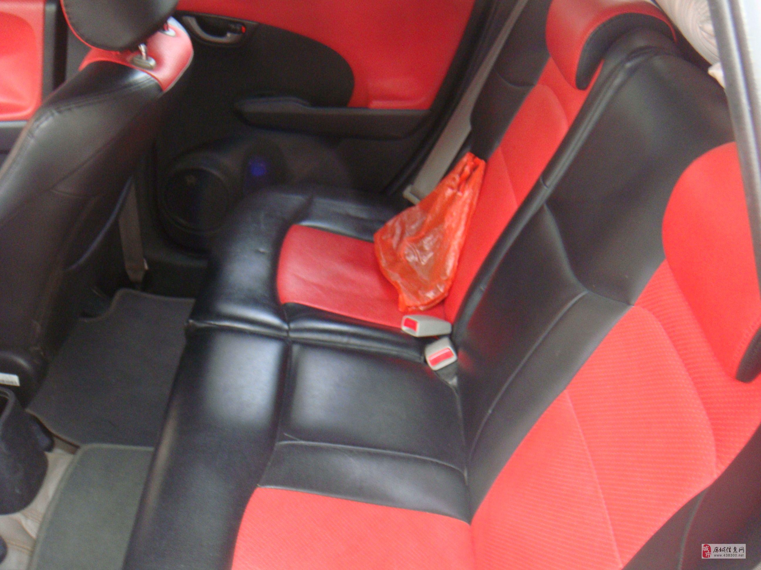 09年红色本田飞度1.5AT豪华顶配型,一手车转让