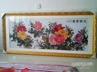 十字绣花开富贵-5000元